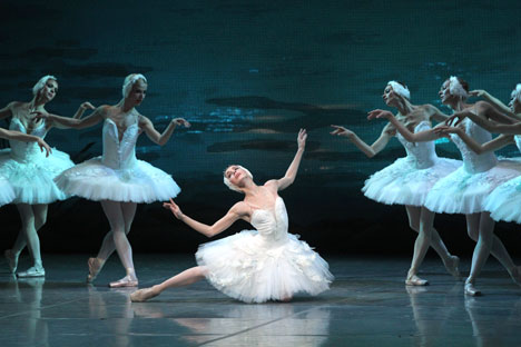 Swan Lake was first performed at the Bolshoi Theatre on 4 March 1877. Source: ITAR-TASS