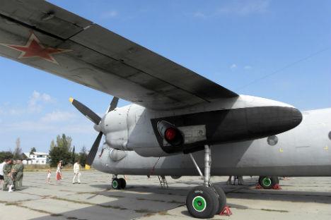 Antonov-26 adalah salah satu pesawat angkut militer yang akan digunakan oleh divisi aviasi khusus ini.