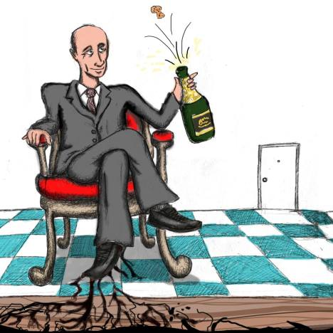 Putin 3.0: what can we expect? Drawing by Nyiaz Karim