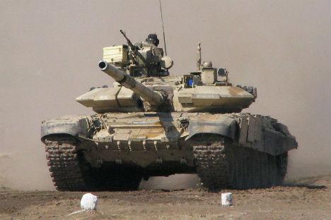 An Indian Army T-90S Bhishma. Source: en.wikipedia.ru