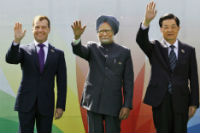 """Russia as a """"third force"""" in the strategic confrontation between India and China"""