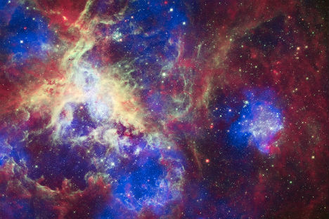 View of the Tarantula Nebula. Source: NASA