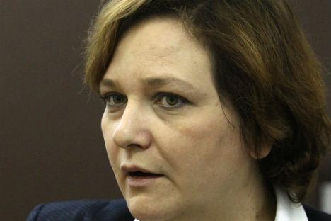 Yelena Panfilova. Source: RIA Novosti/Vladimir Fedorenko