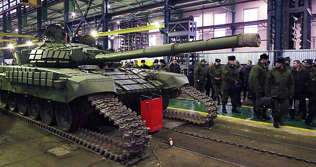 The strategy for the development of the military-technical field will consist of two main areas: the development of Russia's own production capacity and the creation of joint ventures for the production of military equipment. Source: ITAR-TASS
