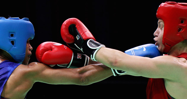 Russian women boxers will fight for gold in London. Source: Getty Images