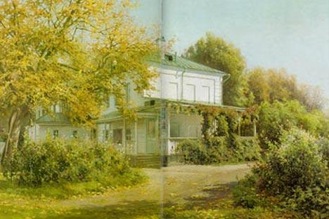 Baturin. Yasnaya polyana. 1911