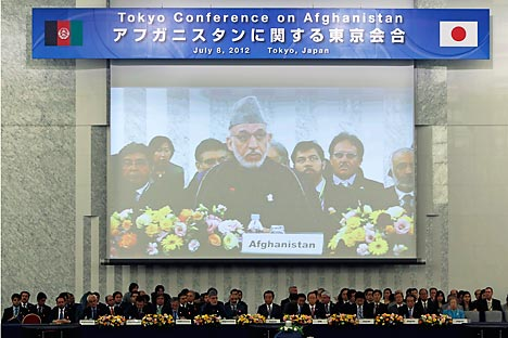 Conference on Afghanistan in Tokyo. Source: Reuters / Vostok-Photo
