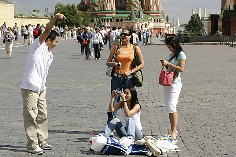 The three-day visa-free rule could increase the number of tourists in Russia and have a big impact on Russia's tourism industry. Source: Lori / Legion Media