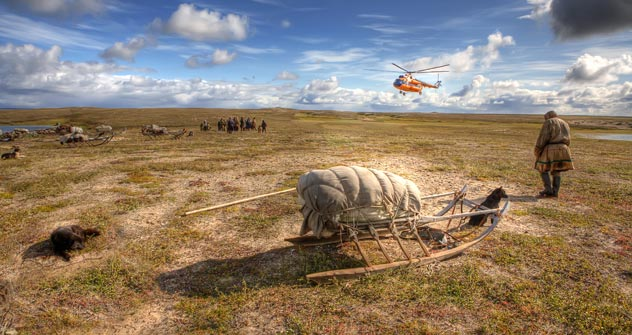 The Yamal-Nenets Autonomous District has seen a significant growth of tourits since 2010. Pictured: Tundra in Yamal Peninsula. Source: Lori / Legion Media