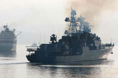 The RIMPAC-2012 war games. Source: Ria Novosti