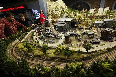 "The maket of the theme park, which will feature a ""Russia in miniature"" exhibit. Source: RIA Novosti / Alexey Danichev"