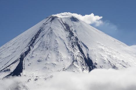 The Klyuchevskaya Sopka volcano, Kamchatka Territory. Source: Lori / Legion Media