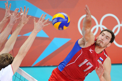 Russian Olympic team got first volleyball gold. Last time USSR was a champion in 1968 in Mexico. Source: ITAR-TASS.