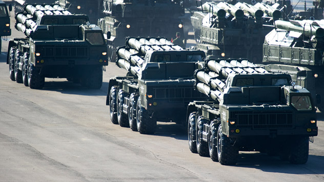 Smerch rockets are technologically superior having a range of 70-80 kms. Source: Alexander Vilf / RIA Novosti