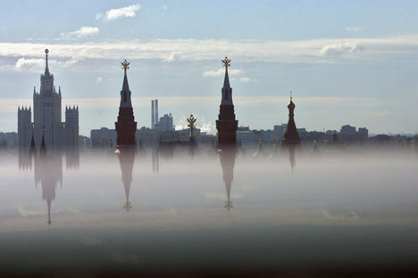 Moscow hotels are ranked as the most expensive by British agency Hogg Robinson Group. Source: Kommersant