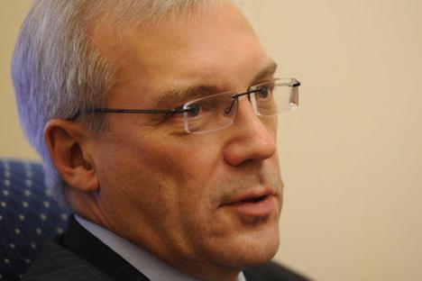 Russia's Deputy Foreign Minister Alexander Grushko. RIA Novosti / Grigory Sysoev