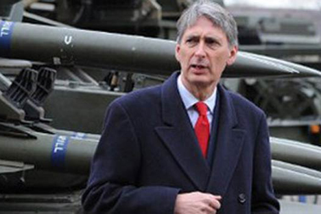 British Defence Secretary Philip Hammond. Source: AFP