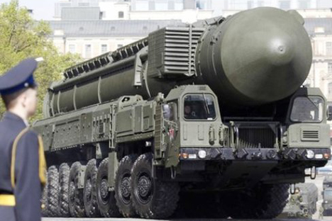 Yars intercontinental ballistic missile. Source: Press Photo