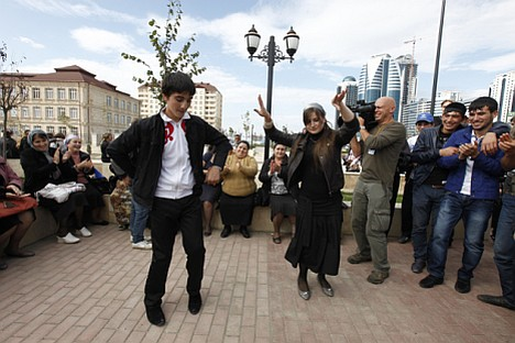 Building a brighter future: 73 percent of Grozny residents are very happy with the new city environment. Source: ITAR-TASS