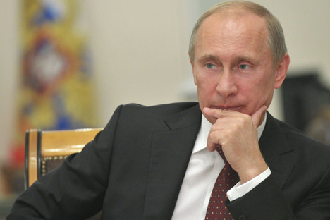 Russian President Vladimir Putin has called off his visit to Pakistan. Source: Alexei Nikolskiy/RIA Novosti