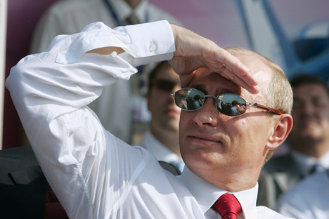 "Many Russian diplomats have maintained that the country shouldn't view Pakistan through ""Indian-coloured sunglasses. Source: Reuters / Vostock Photo"