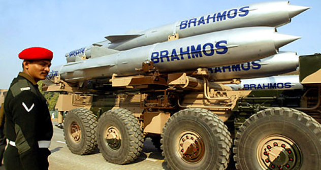 PO Mashinostroyenie is also the Russian partner in the BrahMos joint venture with India to develop the BrahMos supersonic cruise missile. Source: Reuters/Vostock