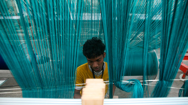 It is much cheaper for the local businesses to invest in imported labour than to in local personnel. Source: Reuters/Vostock photo