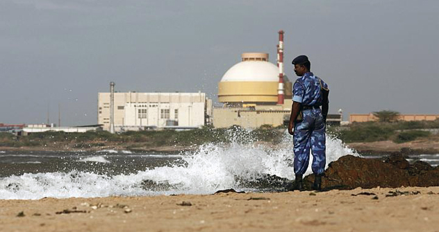 The Russian-built Kudankulam Nuclear Power Plant (KNPP) in Tamil Nadu. Source: Reuters/Vostock