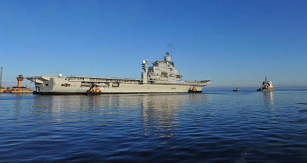 Delivery of the INS Vikramaditya is likely to be delayed by another 6 months. Source: Alexey Popov
