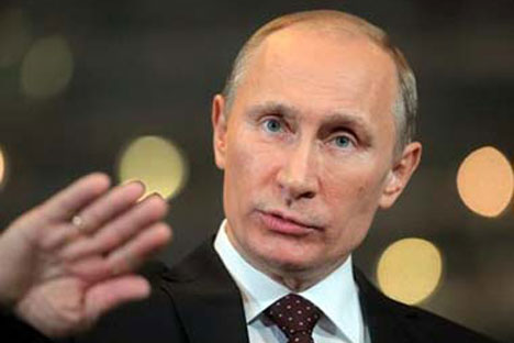"'I am confident that in future, we shall be able to find opportunities for arranging our personal meeting,"" Putin wrote in his letter to Zardari, adding ""We shall always be happy to receive you in Russia.' Source: AP"