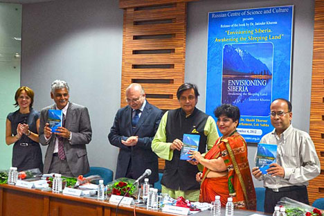 Dr. Jatinder Khanna's Book on Siberia Released at RCSC, New Delhi. Source: RCSC