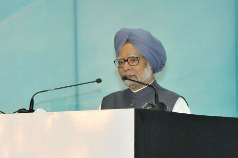 Prime Minister Manmohan Singh. Source: Press Photo