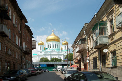 Rostov-on-Don will be one of the cities that host the Football World Cup in 2018. Source: Press Photo