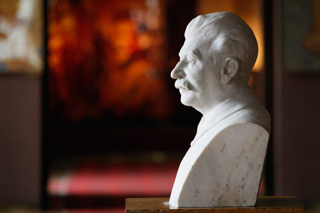 The Stalin Museum in Georgia. Source: AP