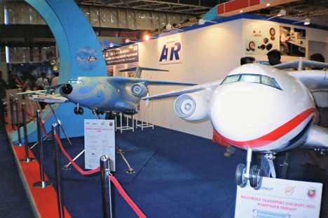 Russia, India sign transport plane deal. Source: B. Harry