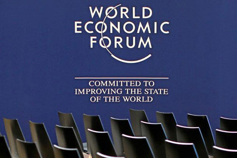 Foreign experts on Russia at the WEF are however very optimistic about Russia's future. Source: World Economic Forum/Swiss-image.ch