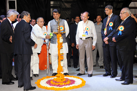 The Petrotech-2012 conference in New Delhi on October 14-17. Source: Press Information Bureau