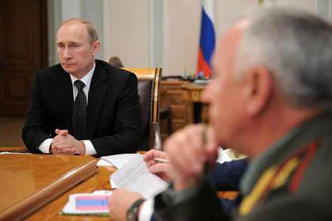Putin to chair meeting on counteraction to terrorism. Source: Russian Presidential Executive Office