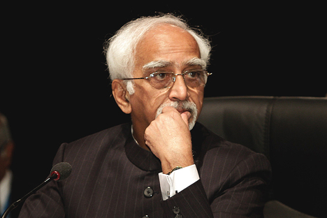 India's Vice President, Hamid Ansari. Source: Press Photo