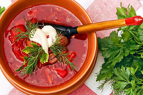 Many people in Russia think that Borsch is their traditional dish. Source: Lori/Legion Media
