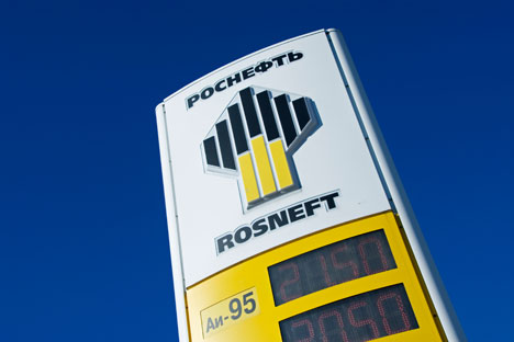 Rosneft replaces Gazprom as super-champion. Source: Alamy / Legion media