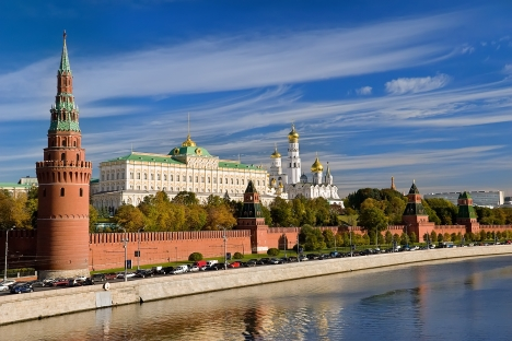 The Moscow Kremlin is one of the most popular destinations among foreign tourists. Source: Lori / Legion Media