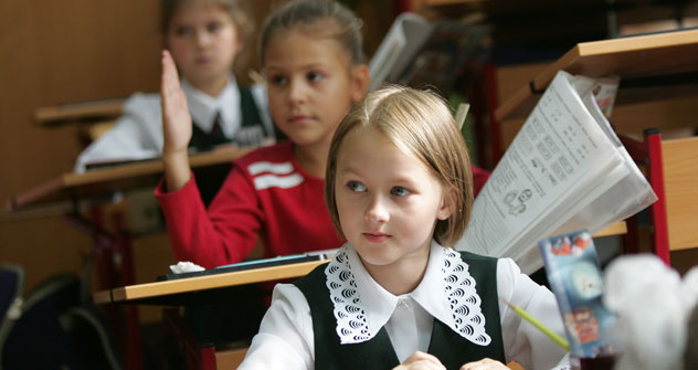 The classrooms in Moscow's School No. 760. Source: ITAR-TASS