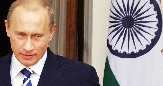 Putin's visit to India postponed to December. Source: AFP/East News