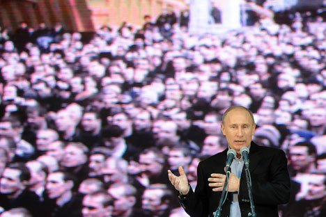 Putin cancels traditional Q&A TV session. Source: ITAR-TASS