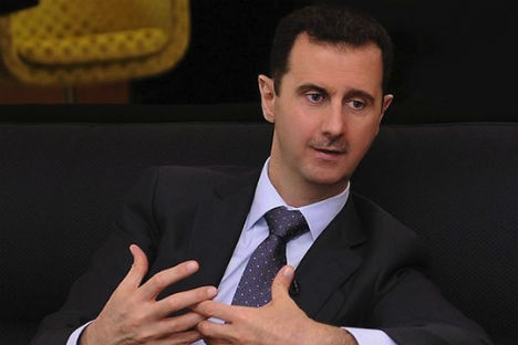 Bashar Assad, is a well-educated man who has fallen victim to media demonization. Source: Reuters/Vostock photo