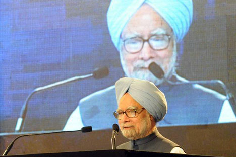 The Indian Prime Minister Manmohan Singh. Source: Press Photo