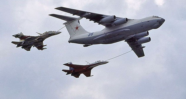 The Il-78 is used in many countries, and there have been no complaints so far. Source: Jim Newton