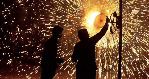 The Hindu Festival of Lights, Diwali. Source: AP