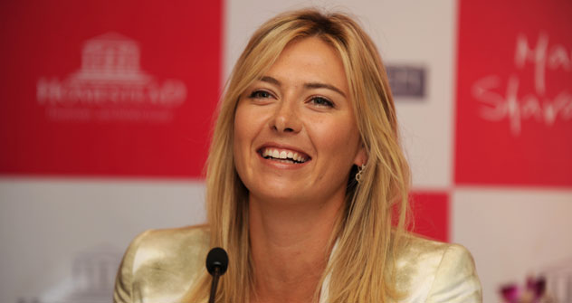 Maria Sharapova makes maiden visit to India to announce partnership with UK-based real estate firm. Source: AFP/East-News